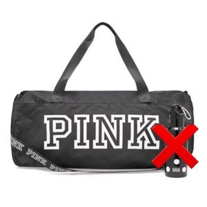 Victoria's Secret PINK Duffel Bag with White LOGO